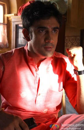 An Intense Amit Sadh In A Still From His Film