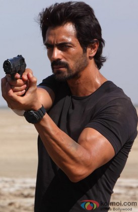 Arjun Rampal In A Still from D-Day
