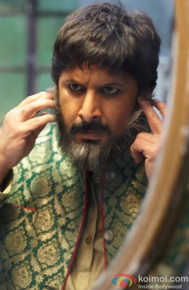 Arshad Warsi Snapped During A Film Scene