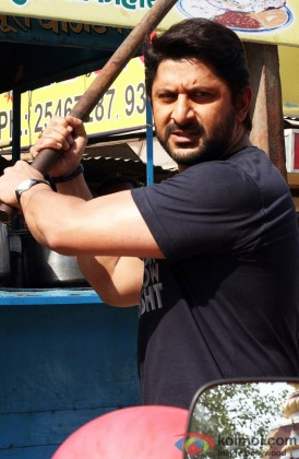Arshad Warsi Snapped In Action Mode