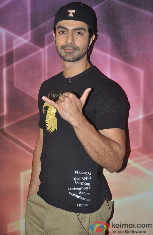 Ashmit Patel at Bindass Superdude auditions