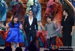 Bharti Singh, Akshay Kumar, Johnny Lever And Krishna Abhishek promote Boss on Comedy Circus Ke Mahabali