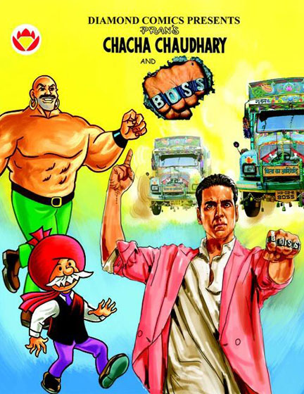 Chaha Chaudhary And Akshay Kumar in Boss | Koimoi