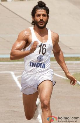 Farhan Akhtar As Milkha Singh In A Still From His Film