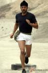 Farhan Akhtar In A Still From His Film Bhaag Milkha Bhaag