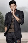 Farhan Akhtar Shows The 'No Talking' Sign At A Photoshoot