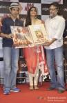 Farhan Akhtar, Sonam Kapoor And Rakeysh Omprakash Mehra At DVD Launch of Bhaag Milkha Bhaag Pic 3
