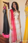 Fashion designer Sujata Ahuja with her latets collection