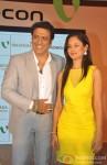 Govinda And Pooja Bose at the launch of music album 'Gori Tere Naina' Pic 2