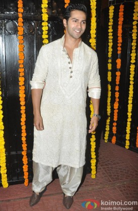 Handsome Varun Dhawan In Traditional Look