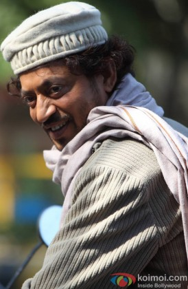 Irrfan Khan Snapped In A Happy Mood