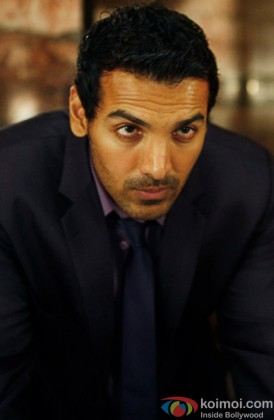 John Abraham Giving A Serious Look