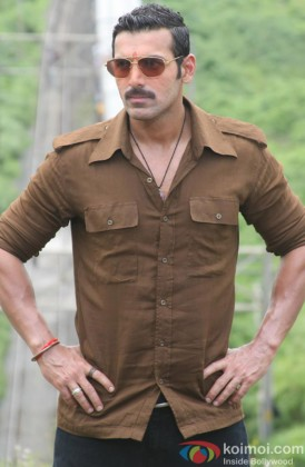 John Abraham In A Still From Shootout At Wadala