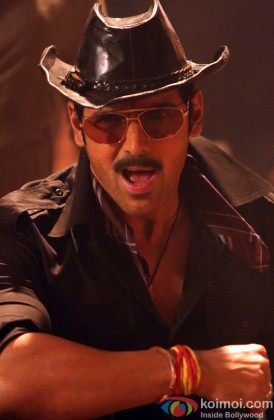 John Abraham Snapped In A Hat