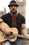 John Abraham Snapped Playing The Guitar
