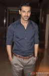 John Abraham during the launch of NDTV Good Times new show