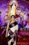 Kajol at North Bombay Sarbojanin Durga Puja Pic 2