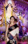 Kajol at North Bombay Sarbojanin Durga Puja Pic 1