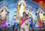 Kajol attends Durga Puja Pic 2