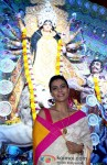 Kajol attends Durga Puja Pic 1