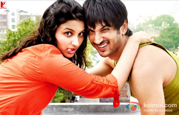 Parineeti Chopra And Sushant Singh Rajput in Shuddh Desi Romance Movie Stills