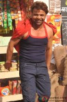 Rajpal Yadav on the sets of Janta V/S Janardan - Bechara Aam Aadmi
