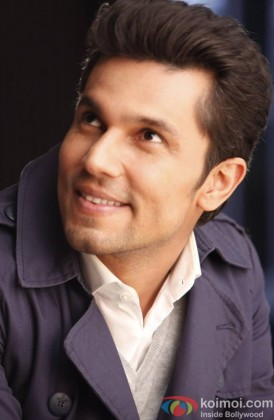 Randeep Hooda Snapped Smiling