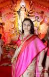 Rani Mukerji at North Bombay Sarbojanin Durga Puja Pic 1