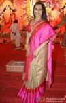 Rani Mukerji at North Bombay Sarbojanin Durga Puja Pic 2