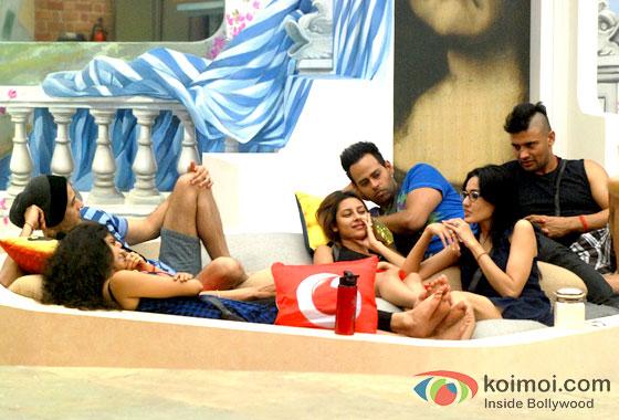 Ratan Rajput, Kamya Punjabi, VJ Andy And Sangram Singh In Bigg Boss 7