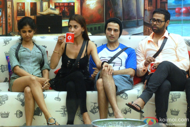 Ratan Rajput, Shilpa Sakhlani And VJ Andy in Bigg Boss 7