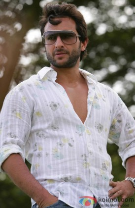 Saif Ali Khan Looking Smart In A Still From His Film