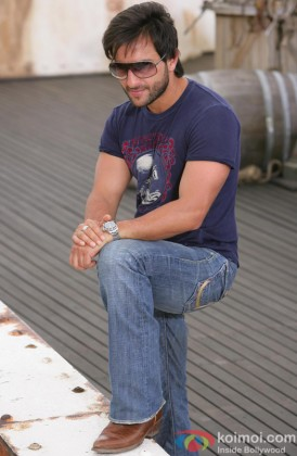 Saif Ali Khan Looking Smart In Shades