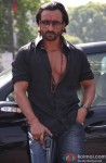 Saif Ali Khan poses with gun still from Bullett Raja
