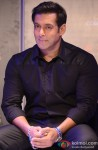 Salman Khan during the press conference of Bigg Boss 7