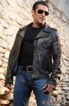 Salman Khan looks his smashing best in the flashy leather jacket
