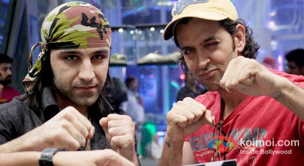 Sameer Ali Khan With Hrithik Roshan in Krrish 3