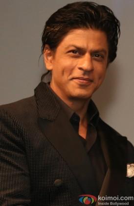 Shah Ruk Khan at the Rashtrapati Bhavan