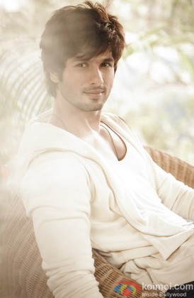 Shahid Kapoor Gives A Smoldering Look
