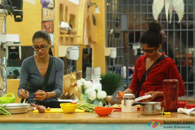 Shilpa Sakhlani And Ratan Rajput in Bigg Boss 7