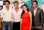 Shiv Pandit, Akshay Kumar, Aditi Rao Hydari And Ronit Roy attend press meet of 'Boss' Pic 2