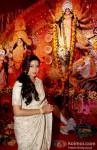 Shreya Ghoshal at North Bombay Sarbojanin Durga Puja Pic 1