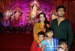 Sonu Nigam attends Durga Puja