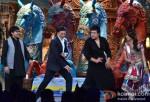 Sudesh Lehri, Akshay Kumar, Krishna Abhishek promote Boss on Comedy Circus Ke Mahabali Pic 2