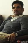 Sunil Shetty Snapped Smiling