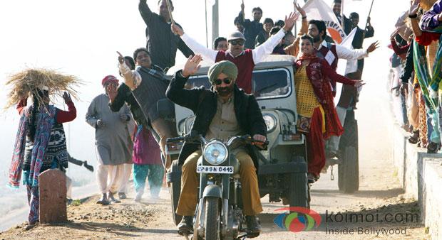 Sunny Deol in Singh Saab The Great Movie Stills