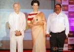Sushil Kumar Shinde and Kangana Ranaut at Rajjo Music Launch