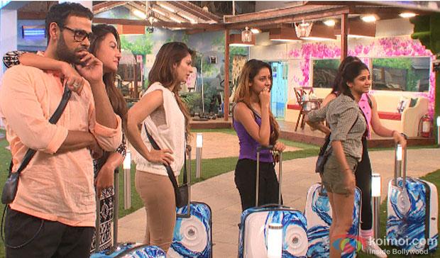 VJ Andy, Gauhar Khan, Tanisha Mukherjee, Ratan Rajput in Bigg Boss 7