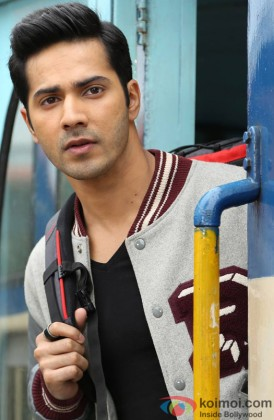 Varun Dhawan In Thoughts
