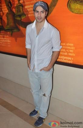 Varun Dhawan Looking Classy In A Casual Attire